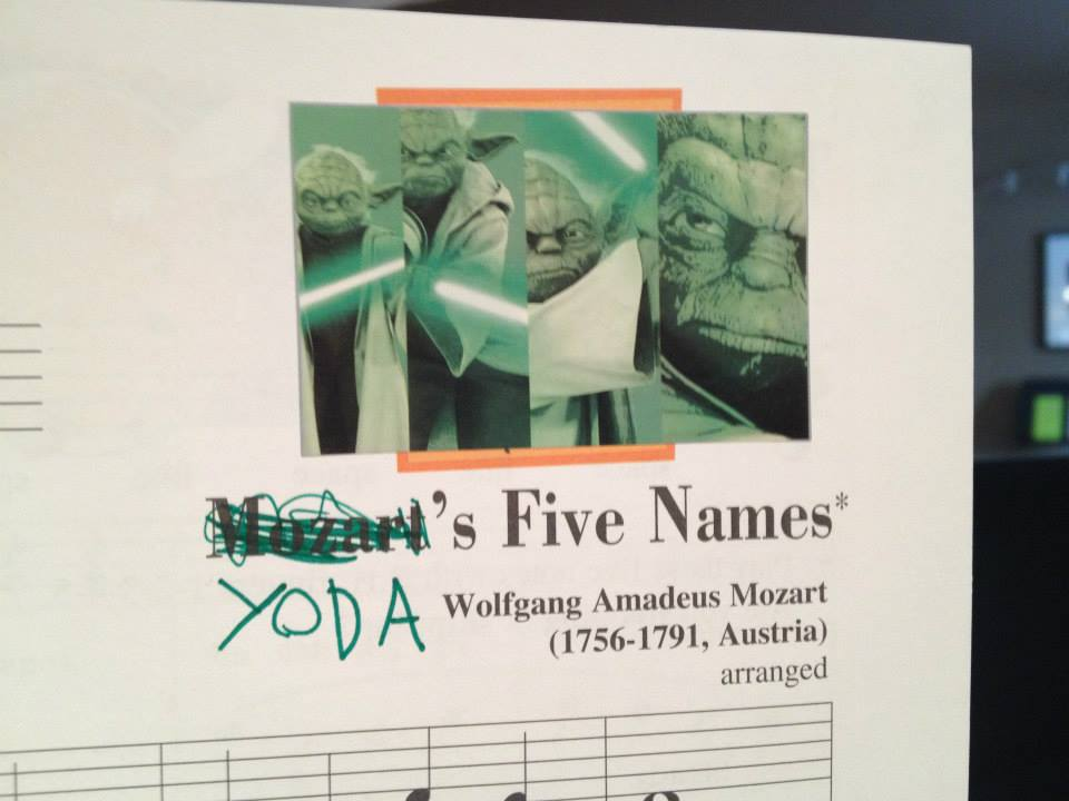 yodas five names